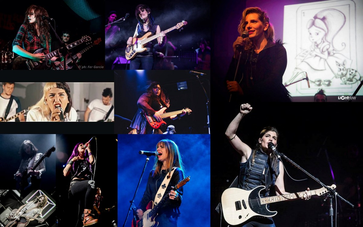 10 alucinantes roqueras:  las mujeres del nuevo rock argentino