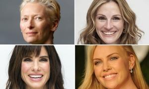 Es un mundo de hombres... actrices como Tilda Swinton, Julia Roberts, Sandra Bullock y Charlize Theron aceptaron roles que estaban originalmente pensados para varones.