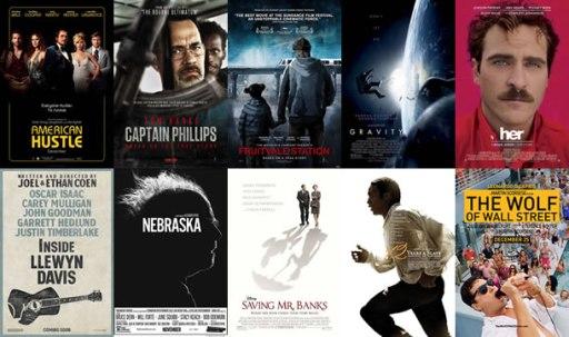 Nota Oscars Pelis nominadas en 2012