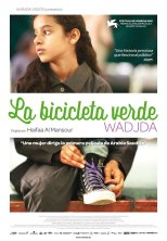LA BICICLETA VERDE (2012) – DIR. HAIFAA AL-MANSOUR (ARABIA SAUDÍ) – DRAMA